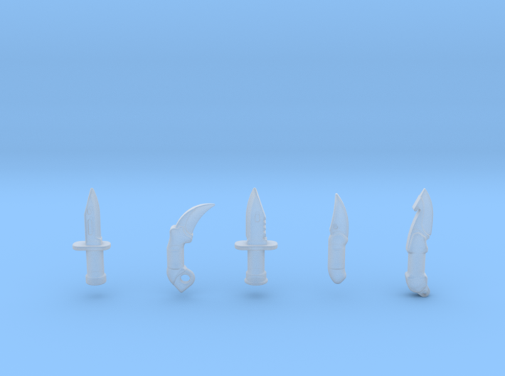 Dagger Pack 3d printed