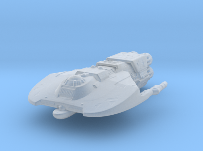 Merchantman Attack Wing 3d printed