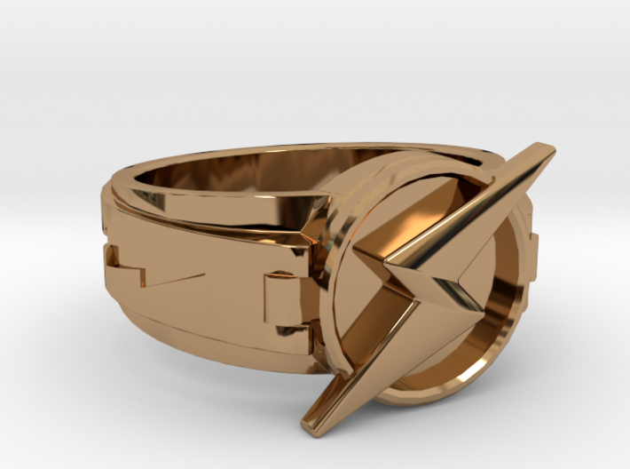 Wally West Flash ring 9 3/4 19.62 mm 3d printed