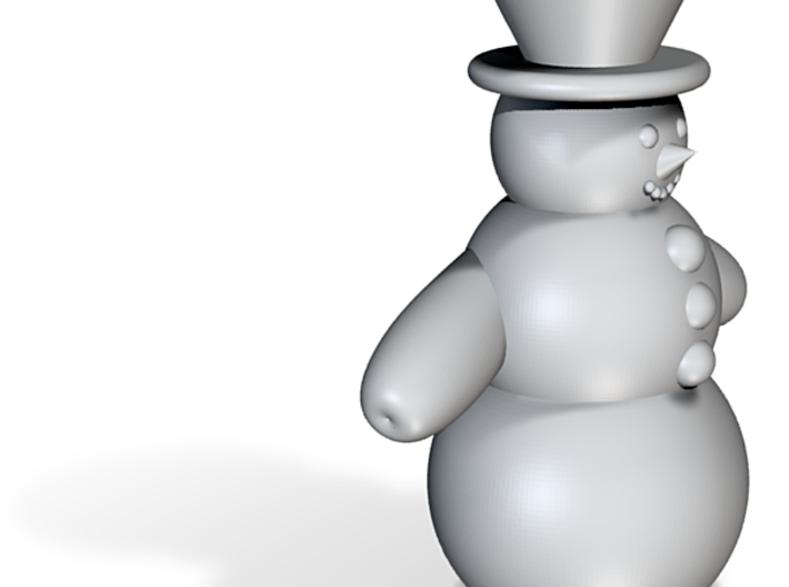 Snowman Candle Holder 3d printed