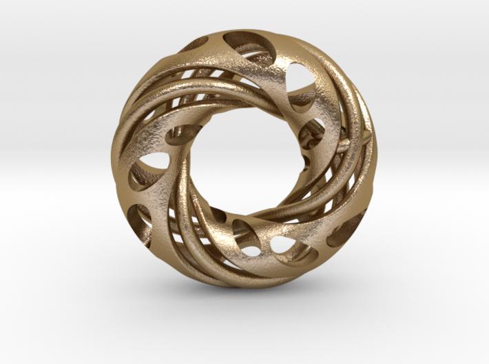 Double Trefoil & Hidden Mobius  3d printed