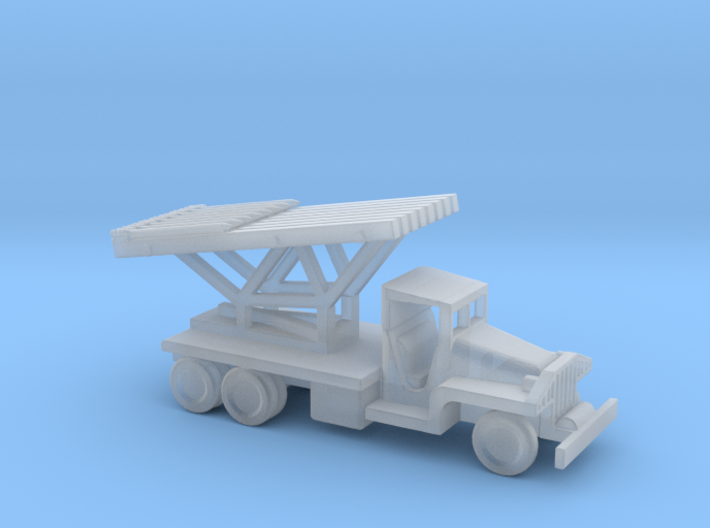 1/144 Scale CCKW Rocket Truck 3d printed