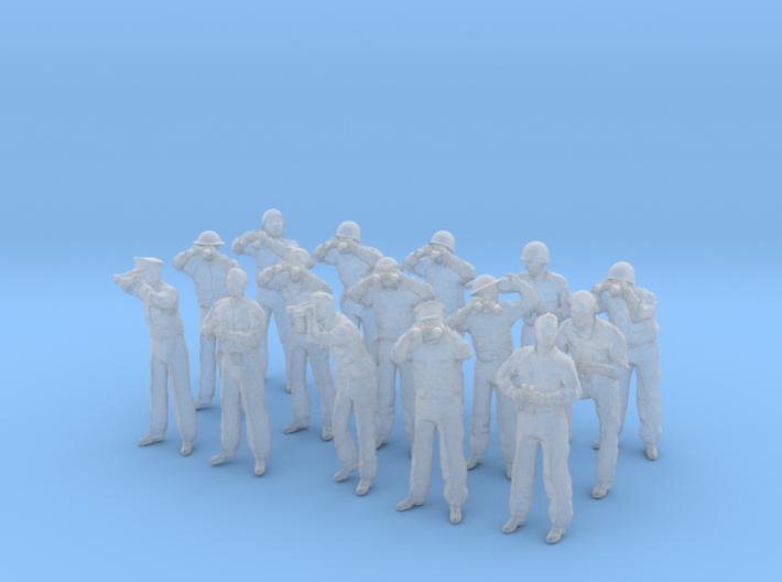 1-64 US Navy Watchers Set15 3d printed
