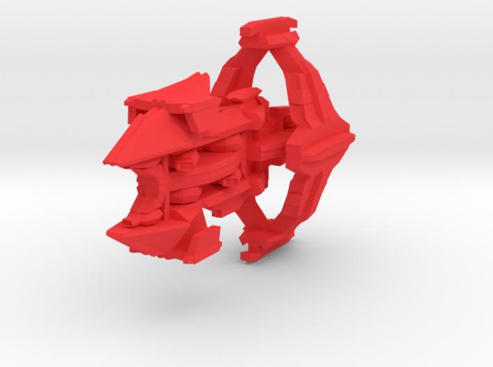 Colour Slipstreamer Destroyer 3d printed