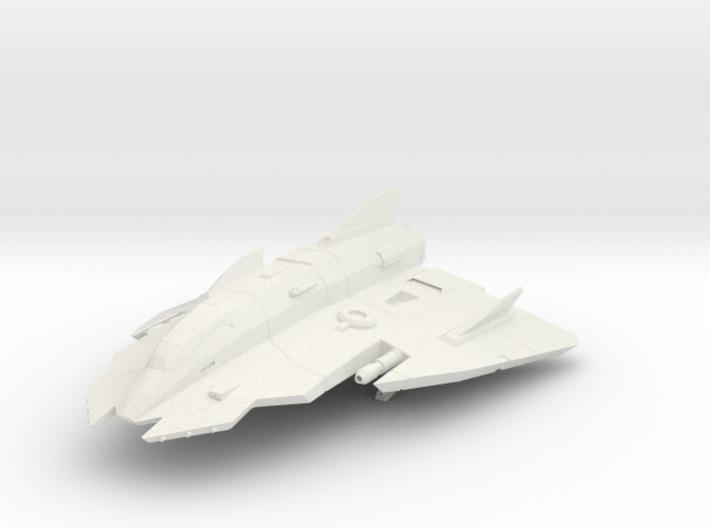 Lightweight Star Fighter 3d printed