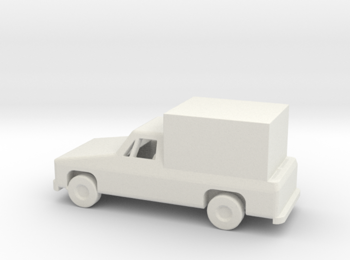 1/144 Scale Pickup With Box 3d printed