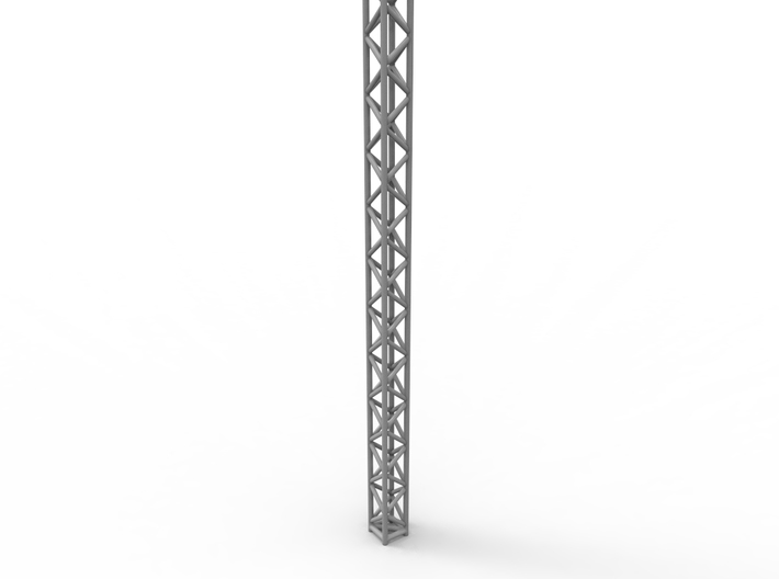 Square truss 01.  1:64 scale 3d printed