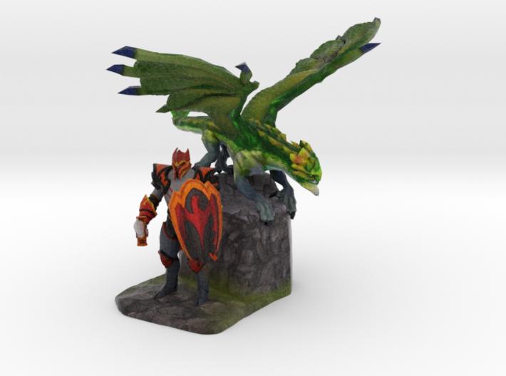 Dragon Knight 3d printed