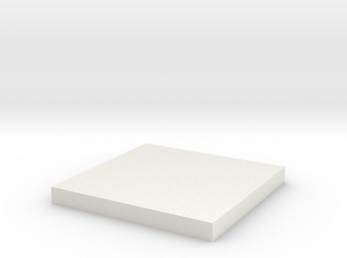 Lens Cap Square for Tie 3d printed