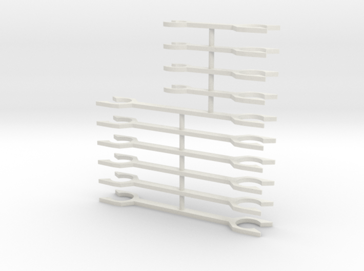 N Scale Fleischmann TEE Coupler Bars 3d printed