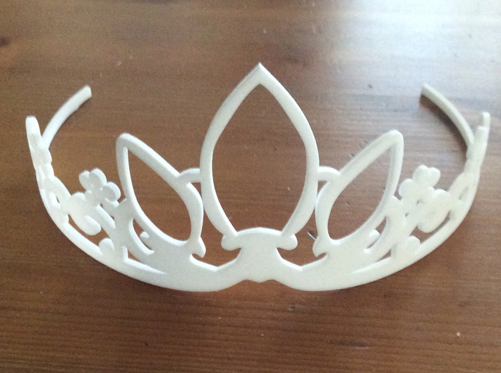 Rapunzel's Tiara 3d printed How you will receive it.