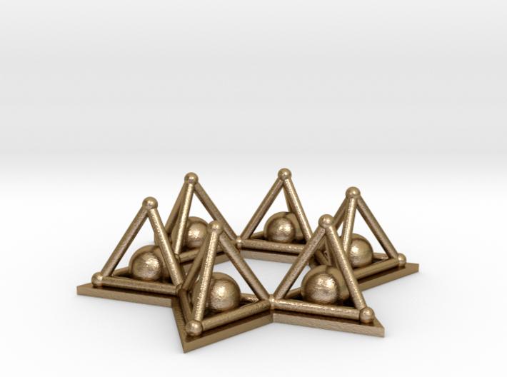 Crystal Merkaba Stargate 3d printed
