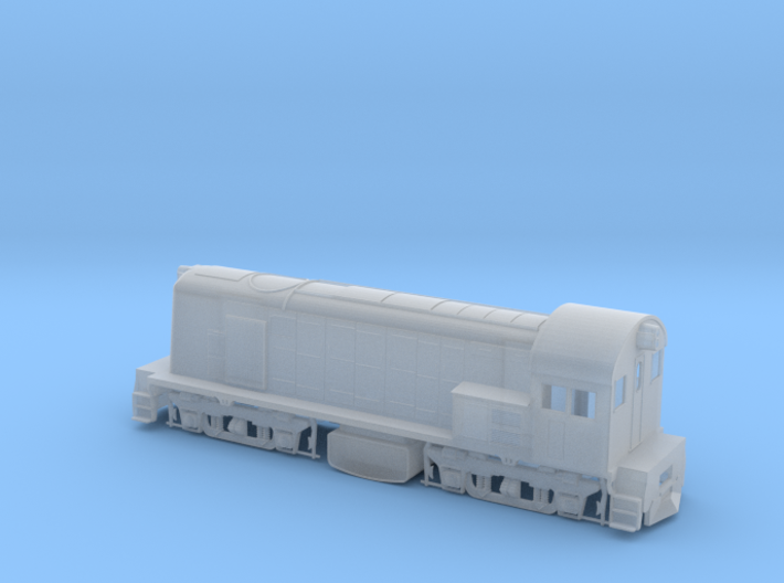 800 Class Loco in HO 3d printed