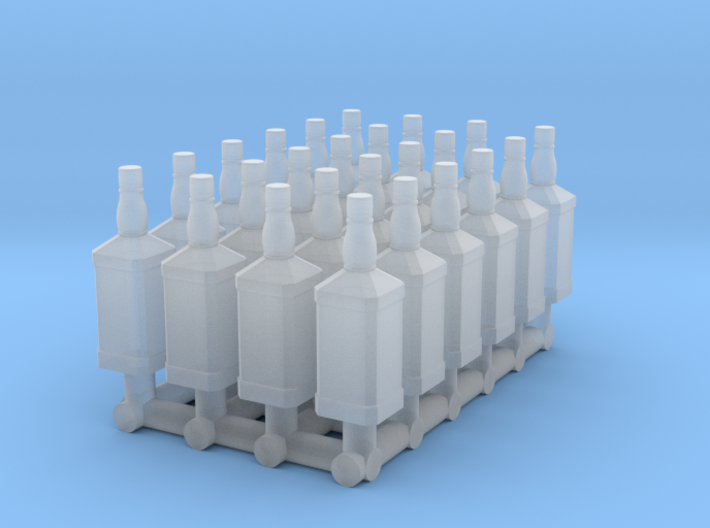 24 1:32 Whiskey Bottles 3d printed