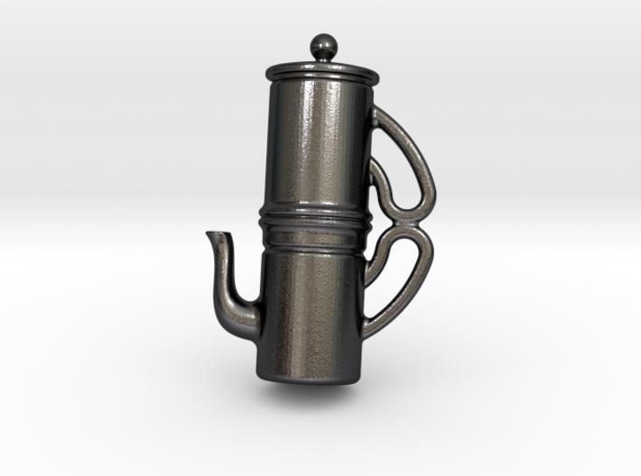Naples Coffee Pendant 3d printed