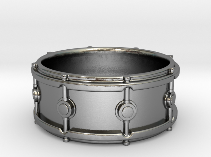 Snare Drum Ring 3d printed