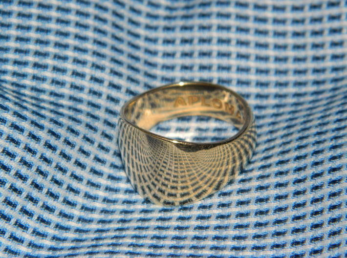 Barrel Ring Size 10 3d printed