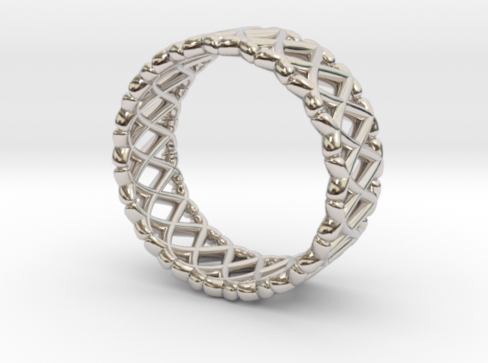 Ring Of X's 3d printed