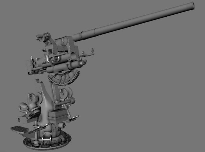 Best Detail 1/24 USN 3 inch 50 Cal. Deck Gun Kit 3d printed