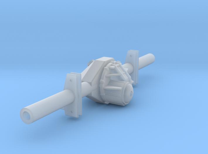 Modular Rear 1/25 3d printed