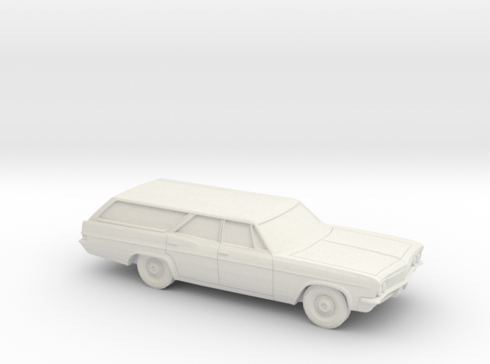 1/87 1966 Chevrolet Impala Station Wagon 3d printed