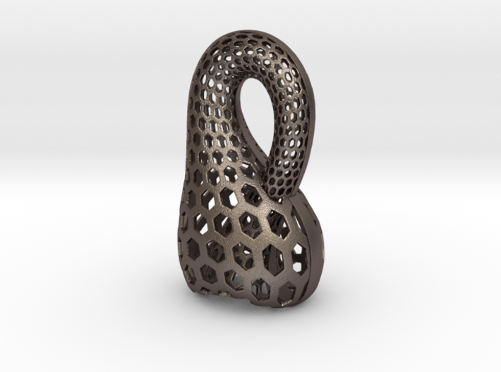 Klein Bottle Opener 3d printed