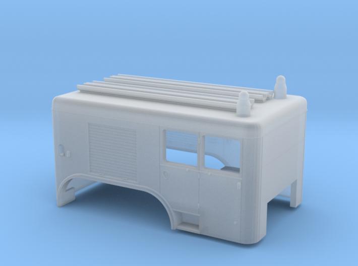 Brandweer Auto 1:87 Kap voor de Dikke Daf 3d printed