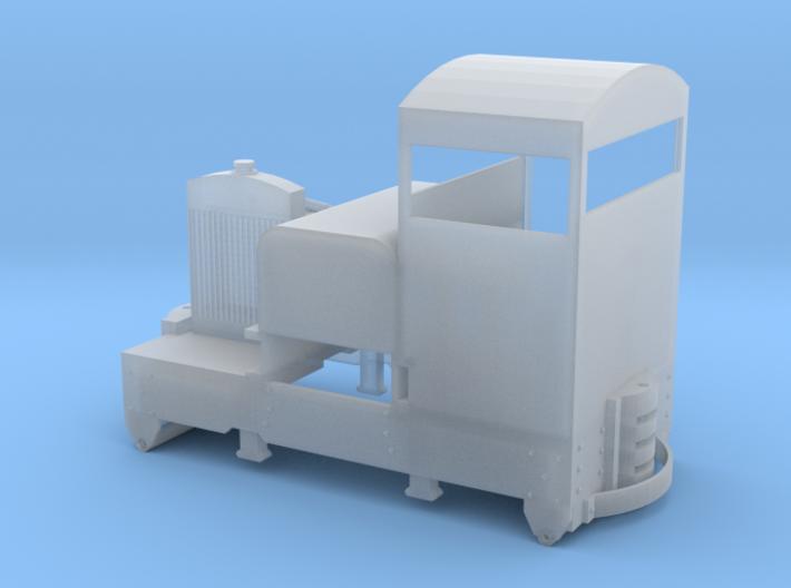009 Gauge Cabbed Simplex Diesel 3d printed