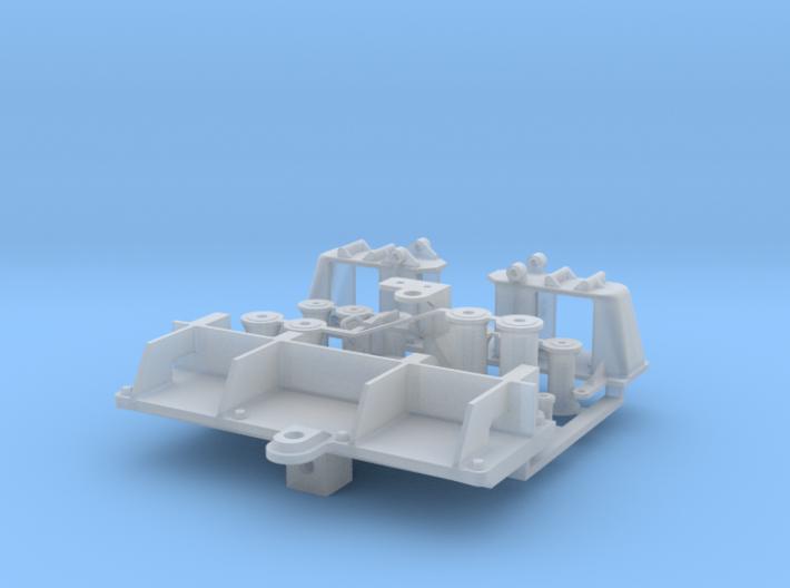 Rollenbock BM-Boot 1:40 3d printed