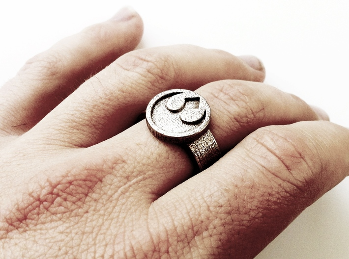 Rebel Alliance Star Wars Ring - Bottle Opener band 3d printed