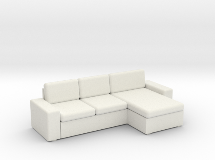 KIVIK Sectional - HO 87:1 Scale 3d printed