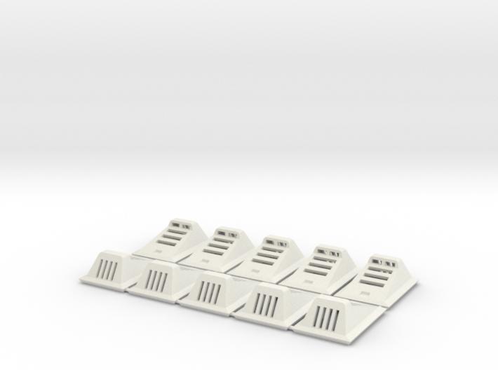 Landing Light (Set of 10) 3d printed