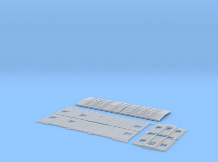 GN X66-X95 Caboose Body Kit (no cupola) 3d printed