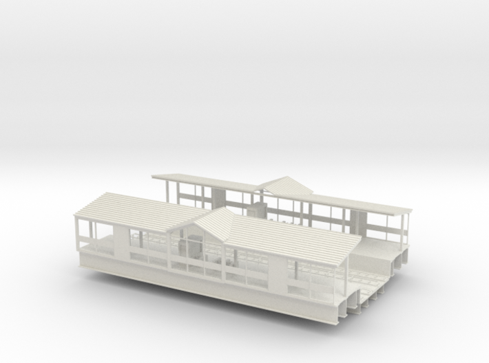 HO Subway / Elevated W Philadelphia Station middle 3d printed