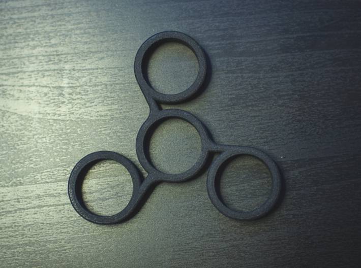 The Vios - Fidget Spinner 3d printed