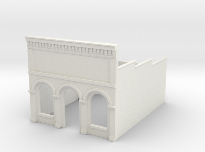 N-scale (1/160) Millie's Cafe Shell 3d printed