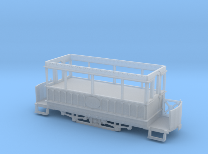 OO scale Giant's Causeway tram 2 for motorising 3d printed