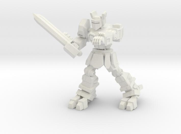 Knight K1A7 alternate pose 2 3d printed