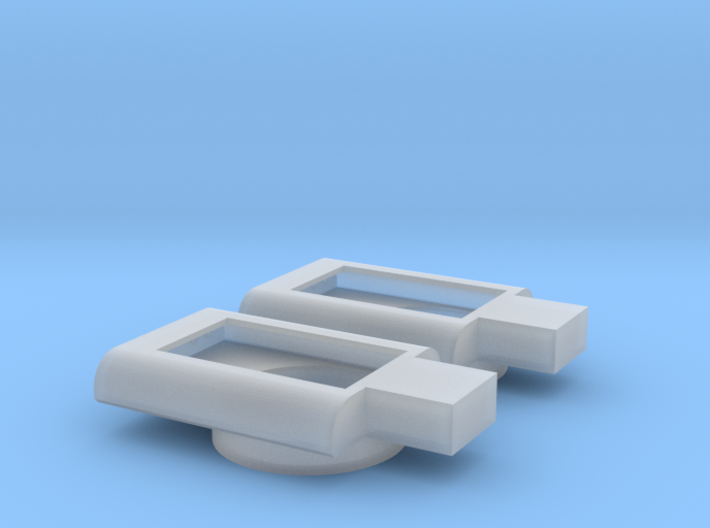 Intermountain FP9 Speaker Box (2 pieces) (N-Scale) 3d printed