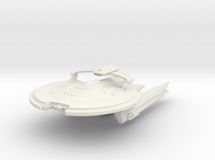 Hampton Class VI BattleCruiser 3d printed