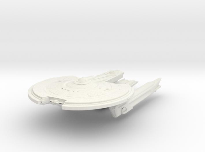 Hampton Class V BattleCruiser 3d printed