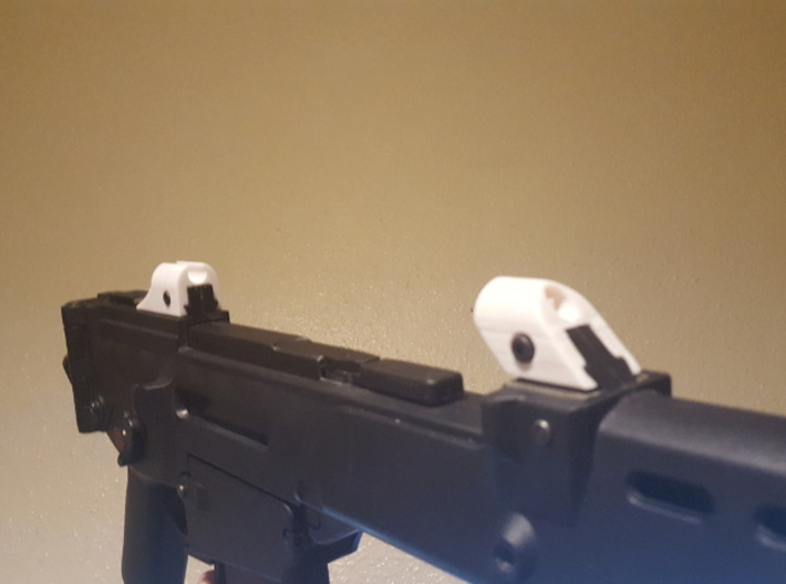 """G36 """"Aurora"""" Sights 3d printed Early Prototype !"""