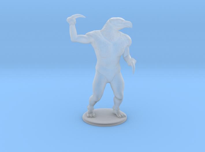 Hook Horror Miniature 3d printed