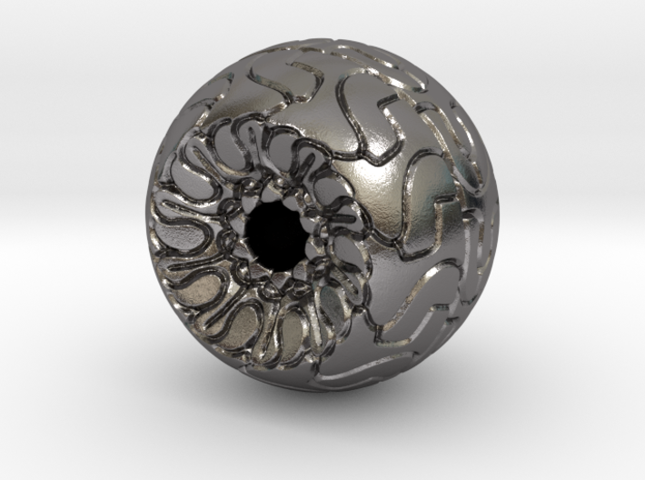 Ornamented Eyeball 3d printed