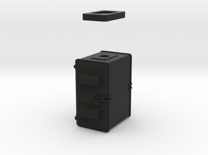 NYC Home Signal Relay Cabinet 3d printed