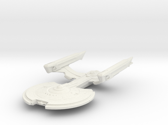 Crow Class Destroyer 3d printed