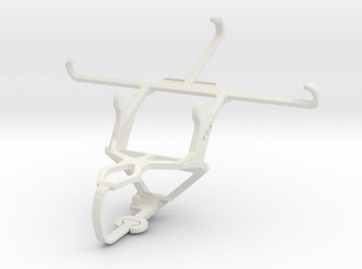 Controller mount for PS3 & QMobile Noir A750 3d printed