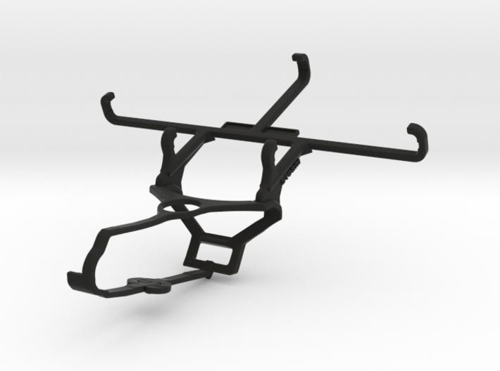 Steam controller & QMobile Noir i8 - Front Rider 3d printed