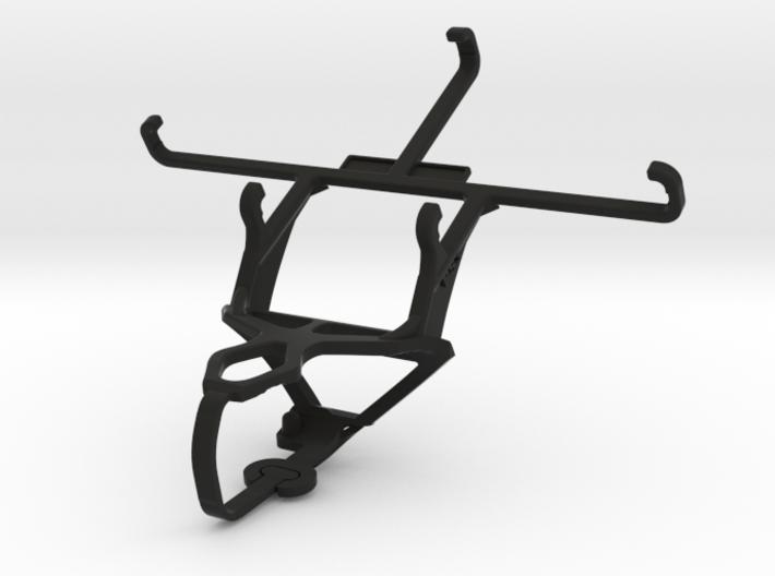 PS3 controller & QMobile Noir LT150 - Front Rider 3d printed