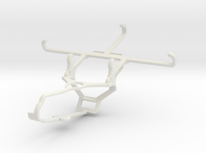 Controller mount for Steam & QMobile Noir X550 - F 3d printed